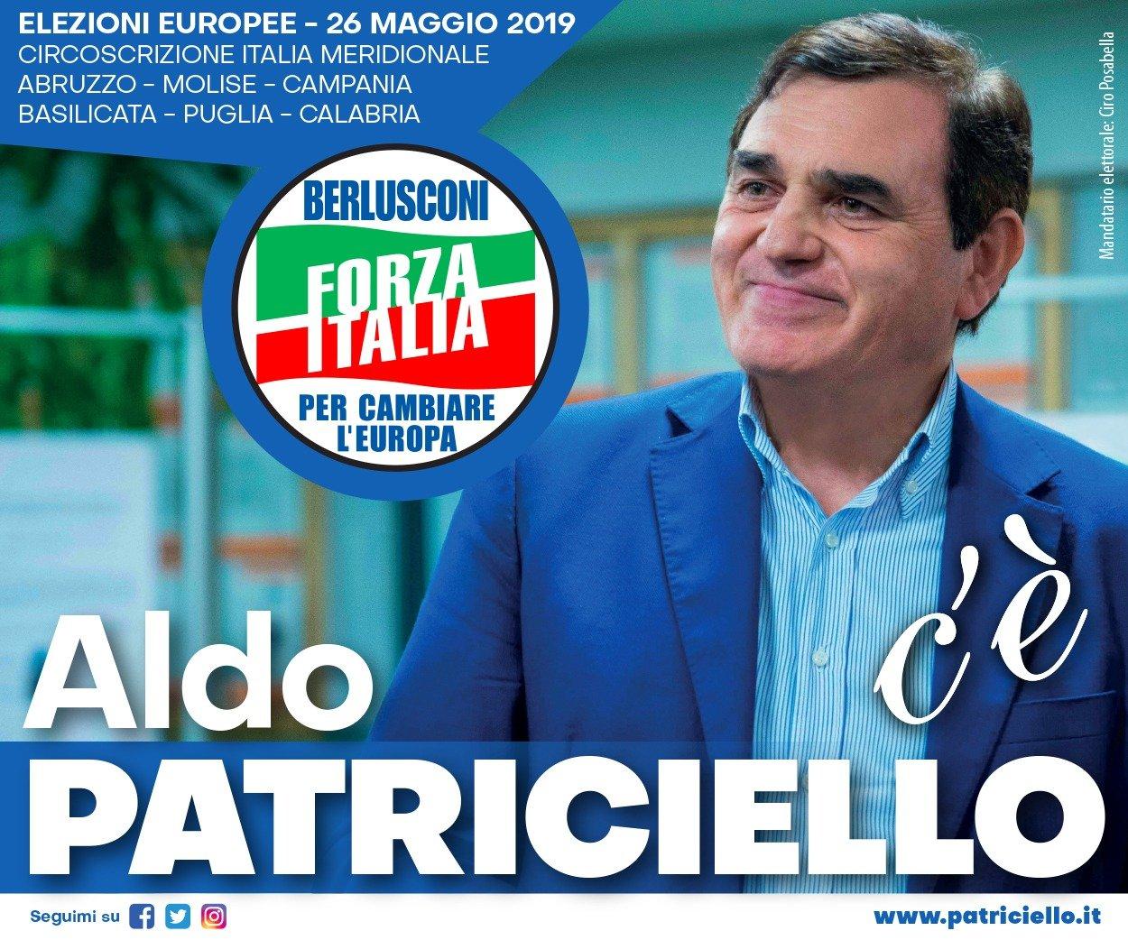 Aldo Patriciello - Elezioni Europee 2019