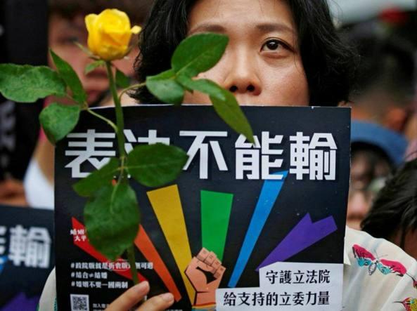 taiwan - Taiwan approva matrimoni tra persone dello stesso sesso - Taiwan approva matrimoni tra persone dello stesso sesso