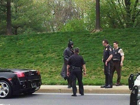 Batman e la polizia canadese